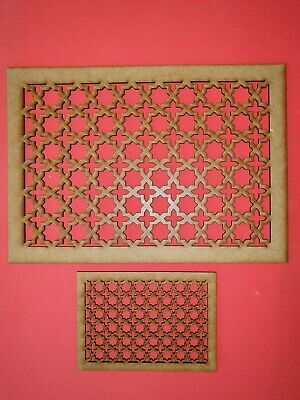 Decorative Panel Pattern Screening Grille MDF Stencil Embellishment Islamic
