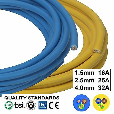 OFFER Arctic Blue Yellow 3183 AG Flex Cable 3core 1.5, 2.5, 4mm Outdoors Artic