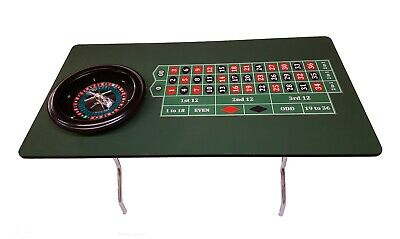 60 Inch Roulette Table & 18 inch Roulette Wheel Made in USA  ACEMCASINOSUPPLIES