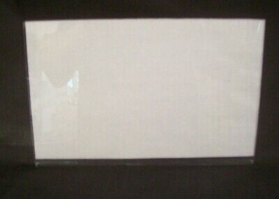 """Store Fixture Supplies 3 CLEAR ACRYLIC SIGN HOLDERS 7"""" TALL X 11"""" WIDE"""