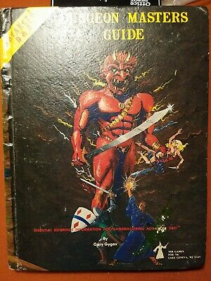 TSR Advanced Dungeons and Dragons Dungeon Masters Guide - 1979 Revised 1st Ed