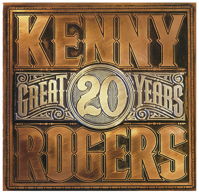 Kenny Rogers - 20 Great Years  (CD) • NEW • Best of, Greatest Hits, The Gambler