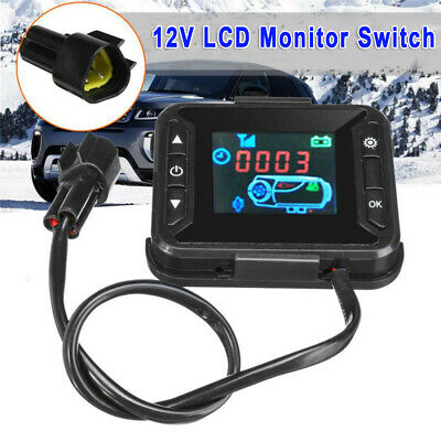 12V Digital Car Track Air Diesel Parking Heater Controller Switch Timable On//Off