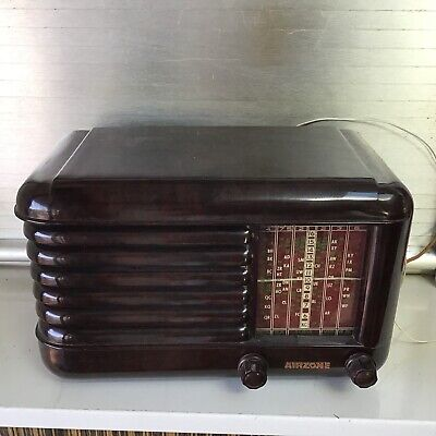 Vintage Australian Bakelite Radio Wireless Airzone NR Excellent Condition
