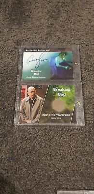 Breaking Bad Wardrobe And Autograph Cards