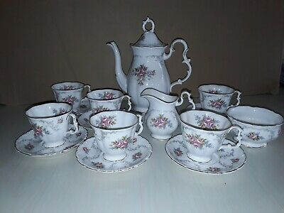 Royal Albert china coffee set tranquillity 15 piece never used