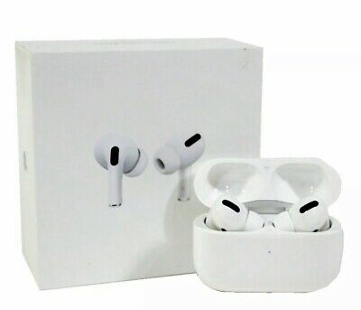 Apple AirPods PRO Noise Cancelling White Wireless Earbuds Genuine (MWP22AM/A)