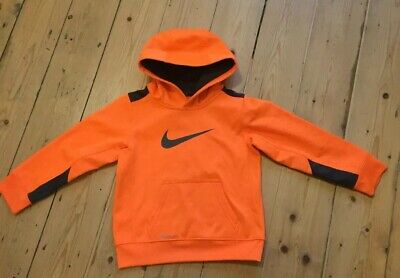 Kids Childs Infant Boys Football Nike Fleece Lined Hoody Hoodie Pullover Age 4