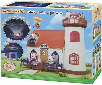 Sylvanian Families Starry Point Lighthouse Playset Accessories For Ages 3+