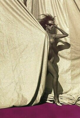IMAN POSTER 24x36 inches - HOLLYWOOD CELEBRITY PHOTO POSTER D