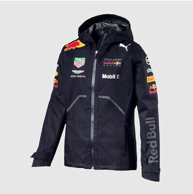 JACKET Rain Coat Aston Martin Red Bull Racing Formula 1 One Mens PUMA NEW!