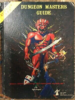 Advanced Dungeons & Dragons Dungeon Master's Guide Tsr Used
