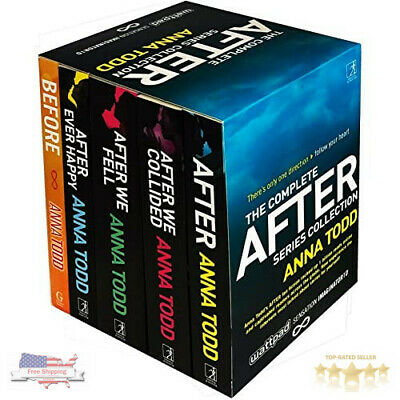 The Complete After Series Collection 5 Books Box Set by Anna Todd - Paperback