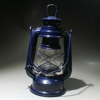 Collectable China Old Handwork Iron & Glass Carve Delicate Unique Noble Oil Lamp
