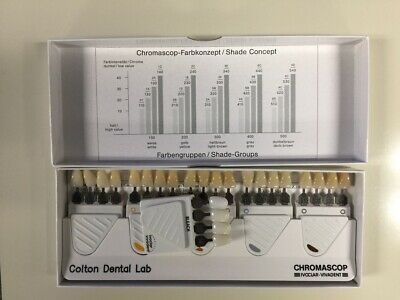 IVOCLAR VIVADENT Chromascop Dental Shade & Bleach Guide - Excellent In Box