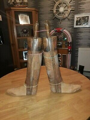 Antique wooden Boot Trees  Size 8