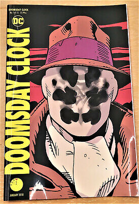 Dc Comics Doomsday Clock #1 Lenticular Variant - Unread Near Mint