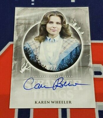 Topps Stranger Things Welcome to the Upside Down Cara Buono Autograph