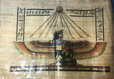 "Ancient Egyptian Papyrus Large 17""x 25""    P10"