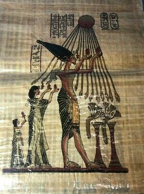 "Ancient Egyptian Papyrus Large 17""x 24""  P7"