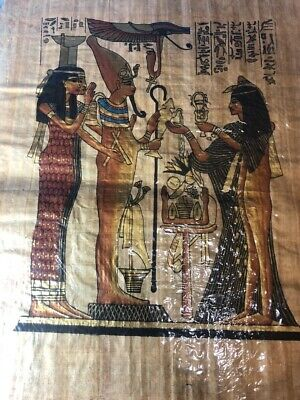 "Ancient Egyptian Papyrus Large 16""x 24""     P6"