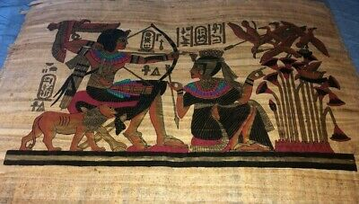 "Ancient Egyptian Papyrus Large 17""x 25""     P5"