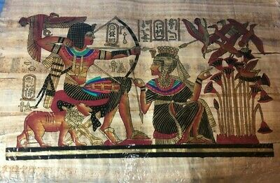 "Ancient Egyptian Papyrus Large 17""x 25""  P4"