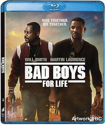 Bad Boys For Life(2020) BLU-RAY Only PRE-ORDER 4-28-20 READ DESCRIPTION