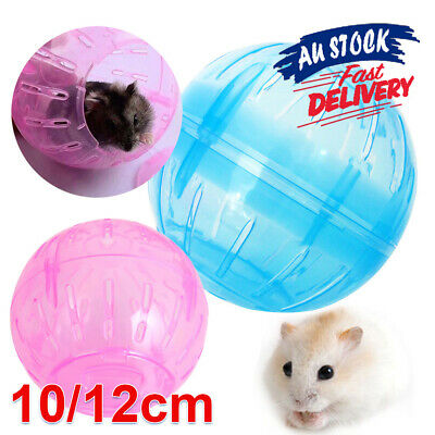Gerbil Jogging Ball Toy Hamster Exercise Balls Pet Rodent Mice Plastic Rat
