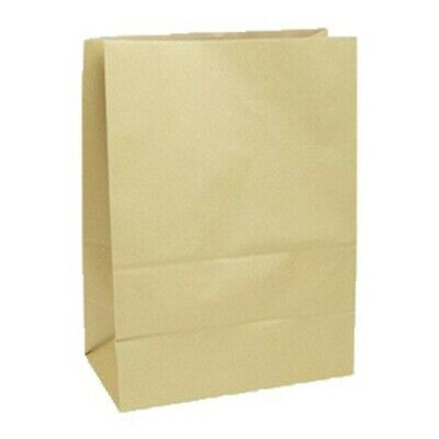 NEW Brown Paper Checkout Bags - 305mm - 175mm gusset - CARTON(250) - Kent Paper