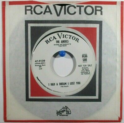 The Angels  RCA 9129 WL Promo  I Had a Dream I Lost You b/w What To Do  Soul