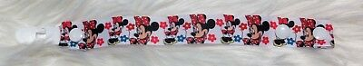 Baby girl dummy clip - Minnie Mouse