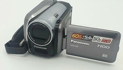 Panasonic SDR-H60 60GB Camcorder - Comes as is -cgl3030