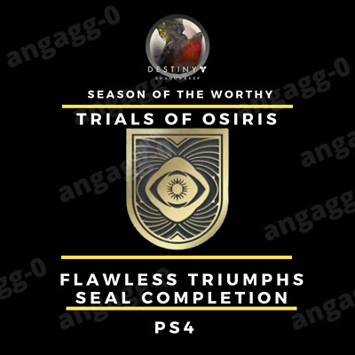 Destiny 2 Trials Of Osiris Flawless Seal Completion Fast, Cheap And Legit [Ps4]