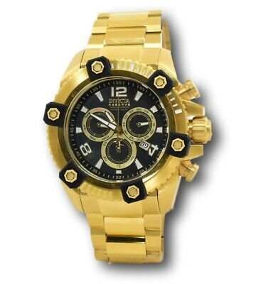 Invicta Reserve Grand Octane Men's 15827 Gold 63mm Swiss Chronograph Watch