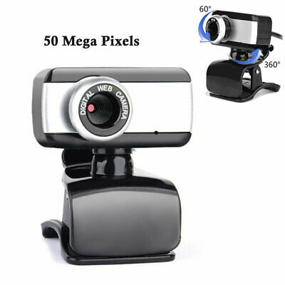 50.0 Mega Pixel USB 2.0 HD Camera Webcam Clip Web Cam With Microphone For PC MSF