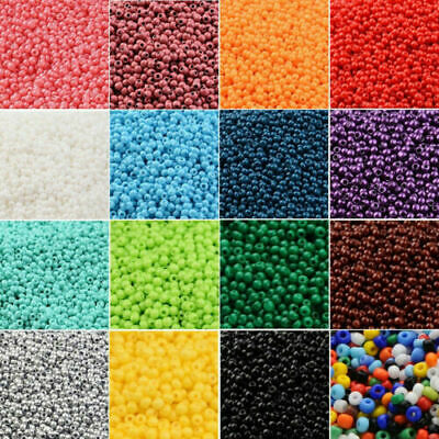 Wholesale 2500pcs DIY 11/0 Rocaille 1.8mm Small Round Glass Seed Beads DIY