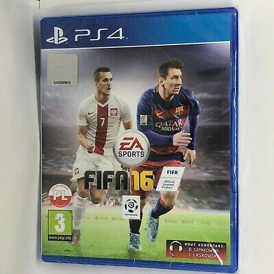 FIFA 16 (PS4) brand New factory sealed Free Postage euro import