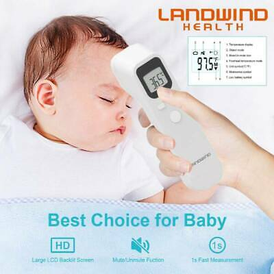LCD Infrared Digital Termometer Non-Contact Forehead Baby&Adult Body vP
