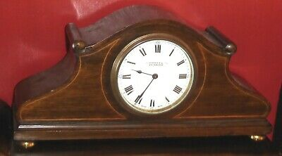 Antique Swiss Buren mantel clock, spares or repairs