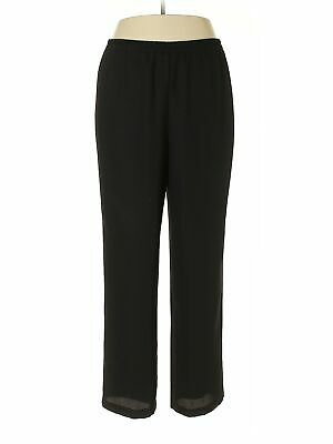 R&M Richards Women Black Dress Pants 14