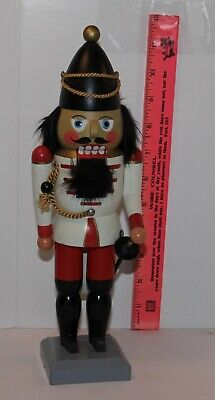 Nutcracker Vintage Wooden Soldier Made in German Democratic Republic
