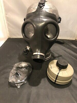 SGP Israeli Style Civilian Protective Gas Mask w/ Water Plug & Filter - All NEW