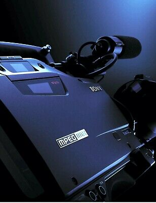 SONY MSW-970 Professional SD MPEG IMX Video Camera