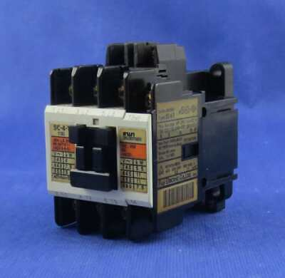 Fuji Electric  Sc-4-1  Magnetic  Contactor, Coil100-110V .Tested