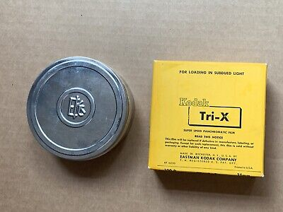 Vintage RARE Kodak Tri-X Super Speed Panchromatic Film, 35mm Film 100' Bulk Roll