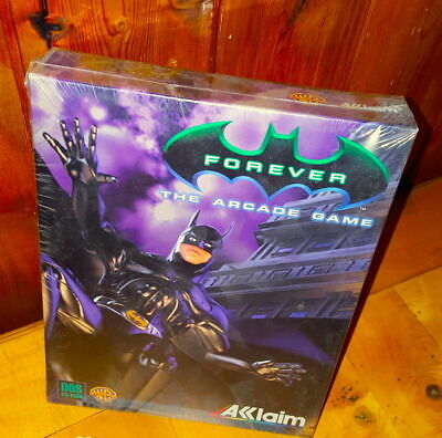 Batman Forever The Arcade Game Big Box Pc Pal Nuovo New Sealed Warner Bros