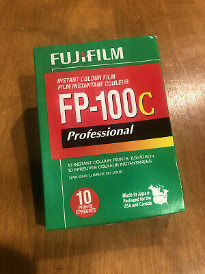 FujiFilm FP-100C Film - COLD STORED - DATE 2018-10 -- US Seller, Free Ship