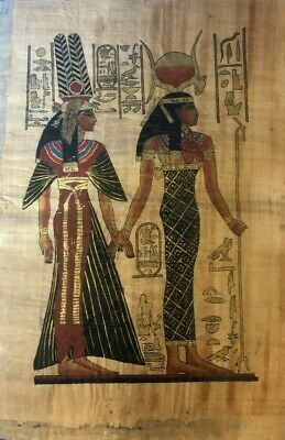 "Ancient Egyptian Papyrus Large 17""x 25""  P2"