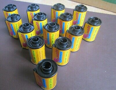 Lot of (14) ULTIMATE 35mm Color Print Film ISO 200 24 Exp. EXPIRED /USED OR NEW?